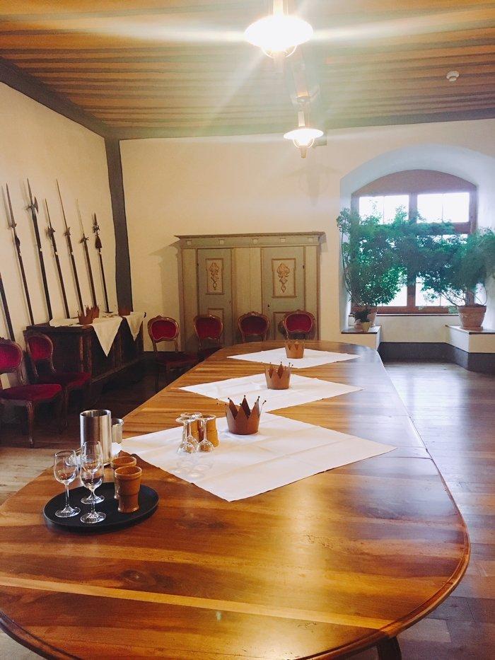 Rittersaal Wasserschloss Hagenwil